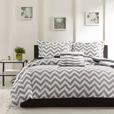 bedroom black and white chevron bedding sets on black stained