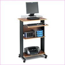 Computer Desk Mobile Small Computer Desks Desk Mobile Computer Workstation Cart