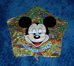 where to buy mylar retired vintage disney mgm studios mickey mouse shaped