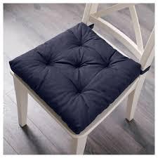 Summer Chair Cushions Malinda Chair Cushion Blue Ikea