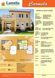 drina house model floor plan elaisa model house floor plan camella homes drina kevrandoz