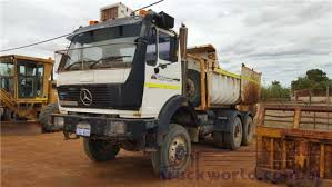 mercedes 6x6 truck 1983 mercedes 2628 tipper truck for sale midwest truck sales