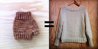how to knit a sweater how to improvise a top sweater introduction fringe association