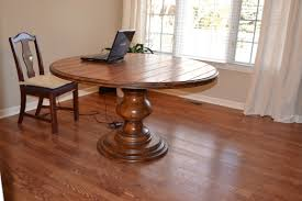 round wood dining table pedestal base with ideas inspiration 7505