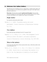 Apa Format Notes | format