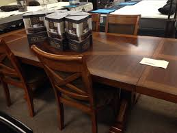 austin walnut 7 piece dining set brown u0027s furniture showplace
