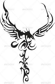 eagle tattoo clipart tribal crow tattoo designs clipart free download best tribal crow