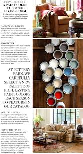 choosing paint colors u0026 picking paint colors for rooms pottery