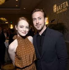 ryan gosling emma stone couple film see emma stone ryan gosling and new york celebs at bafta tea party