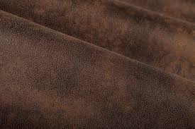 Distressed Leather Upholstery Fabric Gazelle Discount Upholstery Fabric In Chocolate Brown Is A Unique