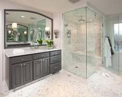 charming glass shower door with semi frameless corner entry pivot