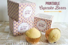 cupcake boxes 40 diy ideas to package your cupcakes