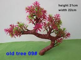 aliexpress buy 9 miniature trees abs plastic model trees