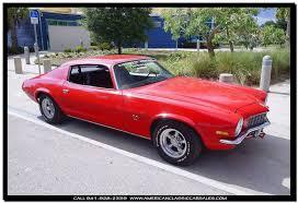 car sales camaro 1971 chevrolet camaro rpo z27 in sarasota fl