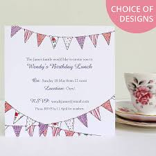 cinderella invitation template personalised bunting party invitations by love give ink