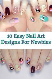 10 easy nail art designs for newbies gwyl io