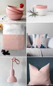 freshen up your home decor with blush pink accents contemporist