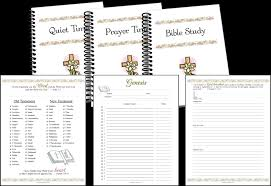 bible study and quiet time pages u2014