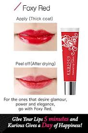 lips tattoo amazon amazon com kurious natural lip gloss tattoo package of 2 foxy