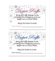 penguin theme diaper raffle ticket baby samira pinterest