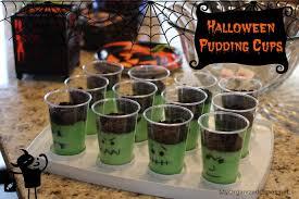 Halloween Cups Halloween Pudding Cups My Organized Chaos