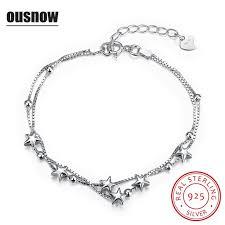 star silver bracelet images Buy 2017 ousnow brand 100 925 sterling silver jpg
