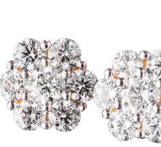 diamond earrings uk diamond earrings stud drop hoop earrings for women in uk tjc