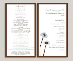 wedding program stationary maeghan s wedding program wording