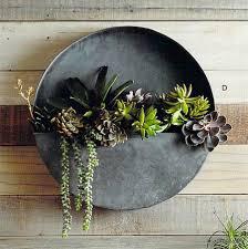 Metal Wall Planter by Terrario Circular Colgante Blog Desli Design Your Life Zinc