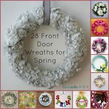 28 decorative front door wreaths for favecrafts