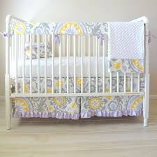 yellow and grey baby bedding home crib bedding gray and yellow zig