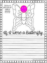 if i were a butterfly narrative writing craftivity tpt