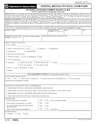 medical evaluation forms