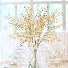 luxury artificial oncidium stem white amaranthine blooms