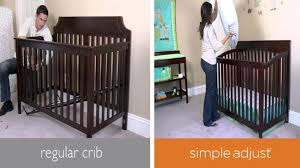 Young America Convertible Crib by Simple Adjust Youtube