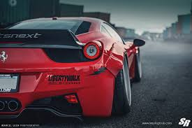 ferrari 458 liberty walk ferrari 458 italia liberty walk with pur wheels looks insane 6