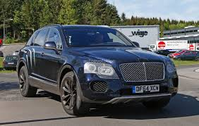 bentley sport 2016 2016 bentley bentayga suv spotted nearly camo free autoevolution