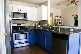 blue color kitchen cabinets blue white kitchen cabinets love renovations