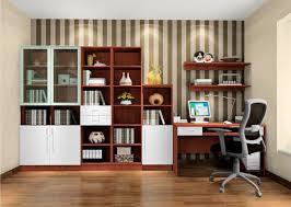 danish modern study room interior design 3d house
