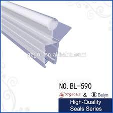 shower seal for bi fold channel profile folding glass door strip