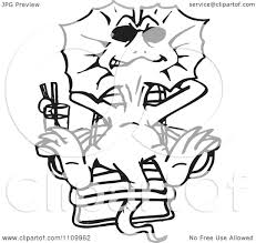 frilled lizard coloring page youtuf com