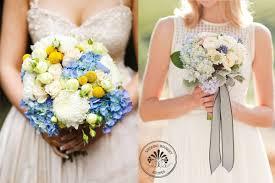 Wedding Flowers Blue And White Blue Hydrangea Wedding Flowers