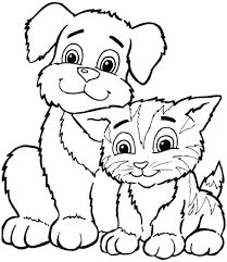 coloring sheets animal dogs printable free kids boys pages frozen