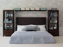 clothing storage ideas for small bedrooms headboard frame gray