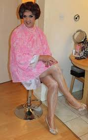 sissy feminization haircuts post dryer relaxation now 90 female hairsalon pics