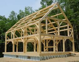 Timber Frame Cottage by Inside Timber Frame Homes Friv5games Me Timber Frame Homes