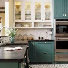 benjamin green kitchen cabinets blue green kitchens