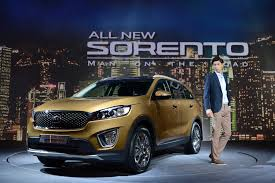kia officially revealed today the all new sorento in south korea