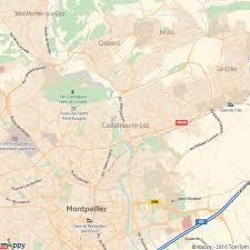 bureau de poste castelnau le plan castelnau le carte de castelnau le 34170 et infos