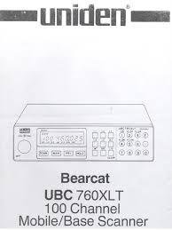 ubc760xlt antenna radio alternating current